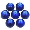 Koraliki powlekane marmurkowe / szklane / niebieskie / 8mm / 20szt-7419