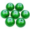 Koraliki powlekane pudrowe / szklane / zielone / 8mm / 20szt-9190