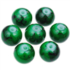Koraliki powlekane marmurkowe / szklane / zielone / 8mm / 20szt-9107
