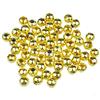 Kulki przekładki / metalowe / złote / 4mm / 60szt-8237