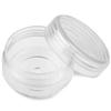 Plastikowy zakręcany słoiczek pojemnik na koraliki ozdoby / plastikowy / 39x22mm-8238