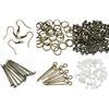 Zestaw półfabrykatów do robienia biżuterii, kolczyków-10946